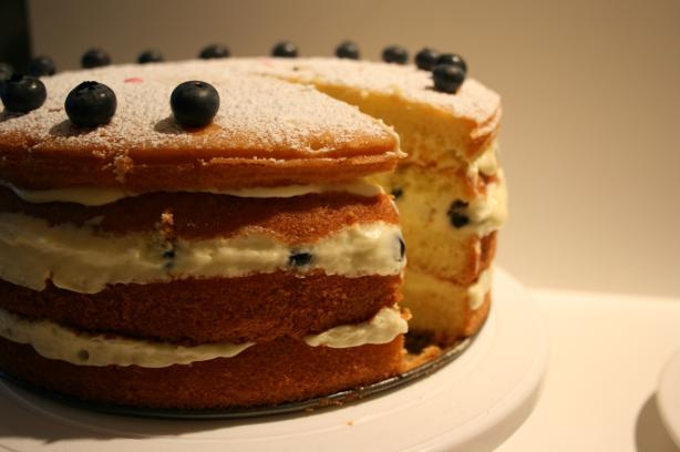 Mean Chef's Triple Lemon Layer Cake