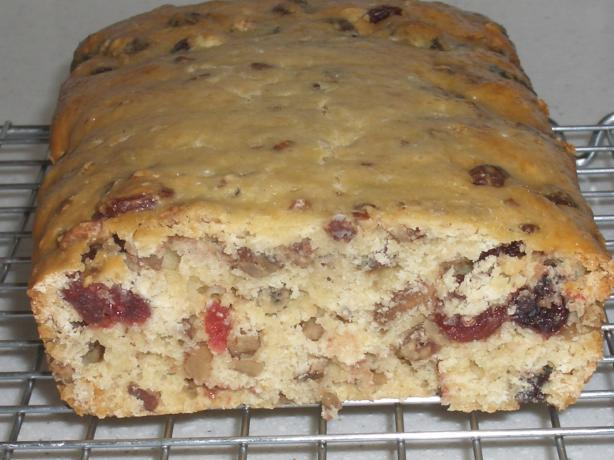 Cranberry Orange Bread With Orange Butter