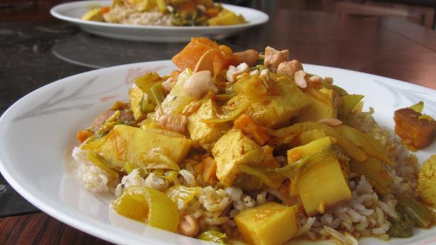 Vegetarian Panang Curry