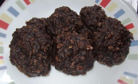 Chef Bob's Chocolate Oatmeal Cookies