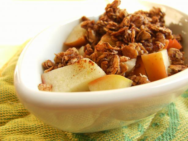 No-Bake Apple Crisp