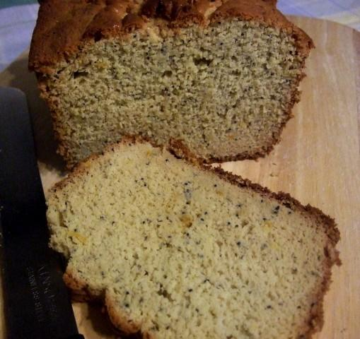 Orange-Poppy Tea Bread