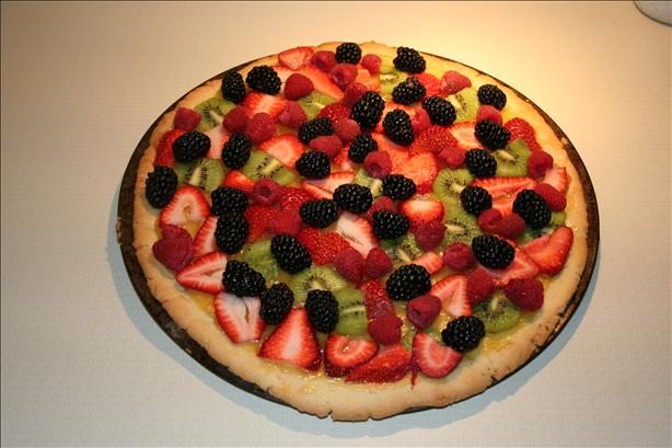 Fresh Fruit Pizza With Lemon Curd (5 Ww Pts.)