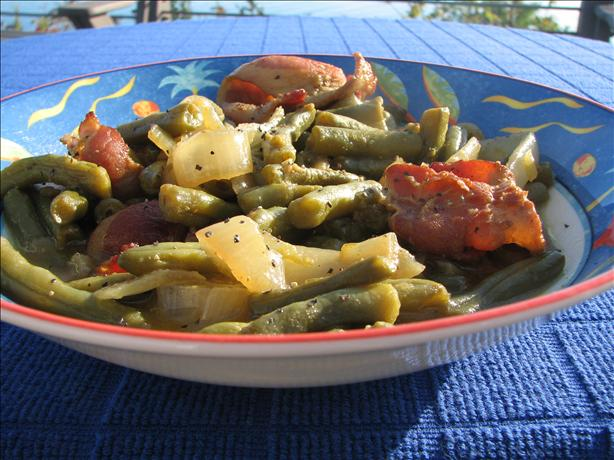 Real Southern Style Green Beans