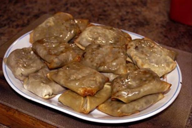 Chef Joey's Baked Turkey Dumplings