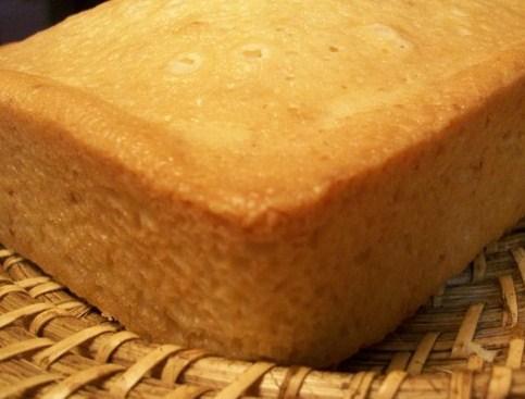 Lemon Verbena Pound Cake