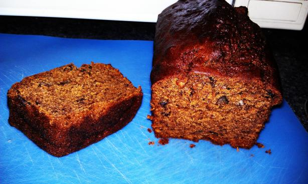 Moist Banana Pumpkin Bread