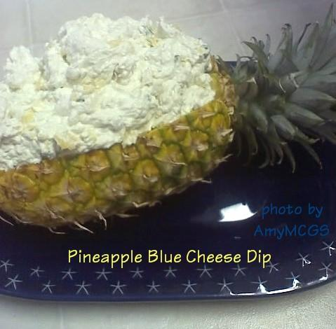 Pineapple Blue Cheese Dip