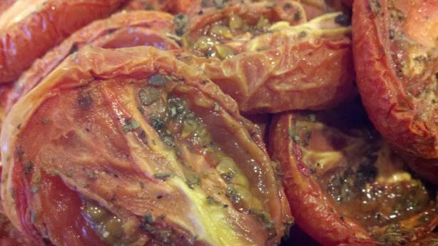 Aromatic Slow-Roasted Tomatoes