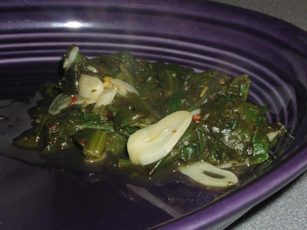 Spinach Saute