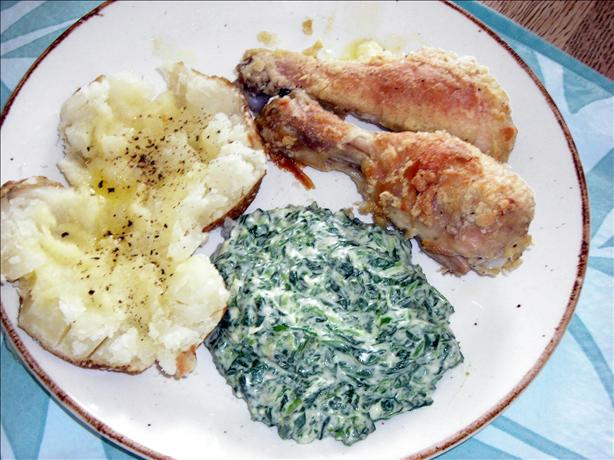 Creamed Spinach (Like Boston Market)