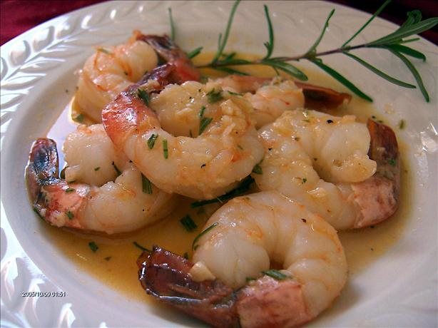 Rosemary Shrimp in Sherry