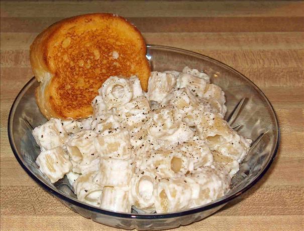 Easy Creamy Parmesan Rigatoni (Rigatoni Alla Panna)