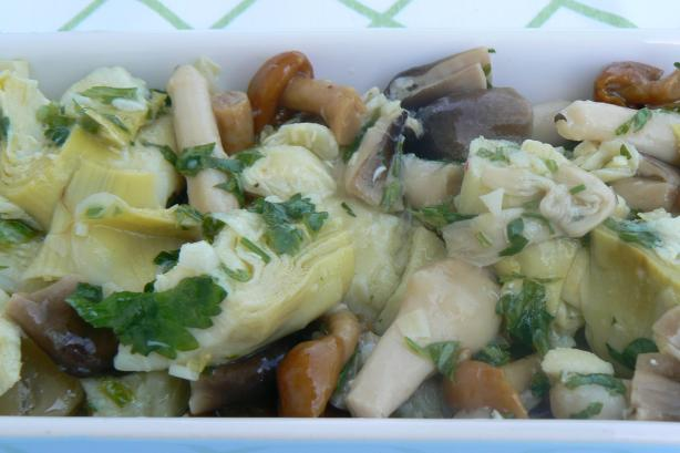 Marinated Artichokes and Mushrooms