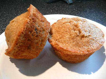 Healthy Orange Marmalade Muffins