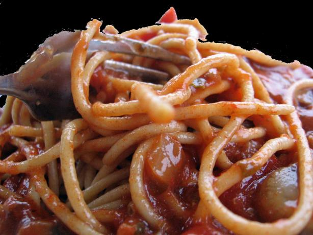 Hearty Beef Spaghetti Sauce
