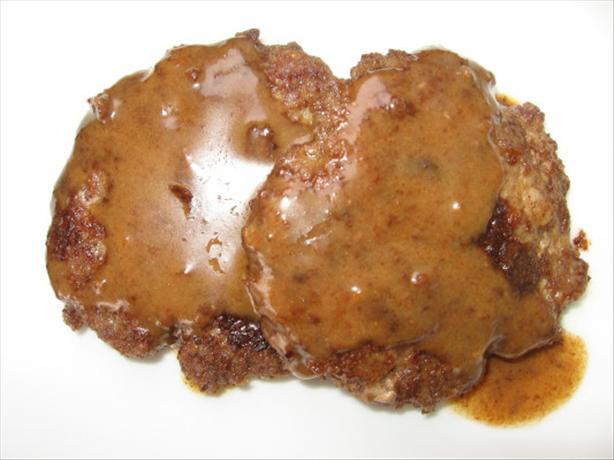 Biftek Hache a La Lyonnaise