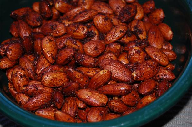 Hot and Spicy Nuts (Smoke House Almonds)