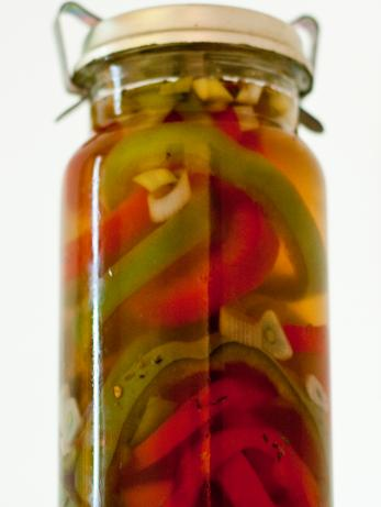 Pickled Peppers With Shallots and Thyme
