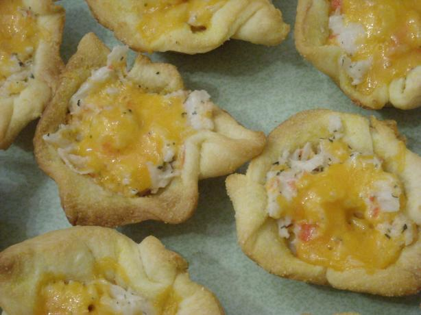 Cheese and Crab Cups