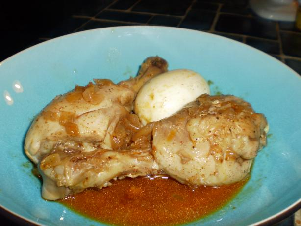 Doro Wat (spicy Chicken Stew)