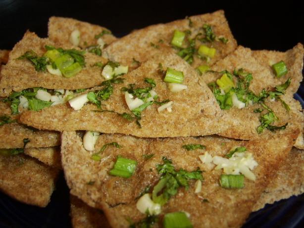 Garlic-Herb Pita Toasts