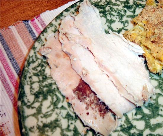 Orange-Spice Rubbed Roasted Turkey Breast
