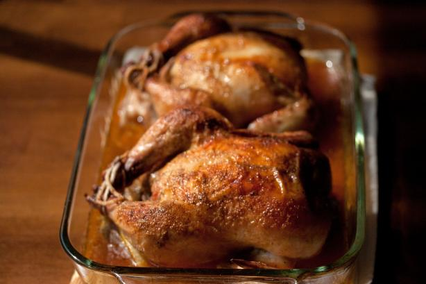 Easy Cornish Game Hens