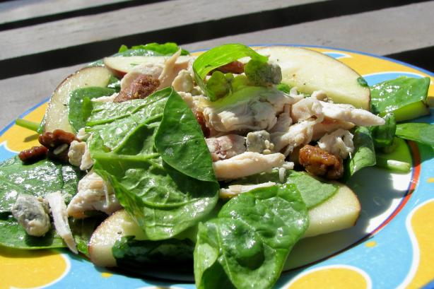 Apple, Chicken and Stilton Salad
