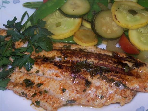 Spicy Grilled Catfish
