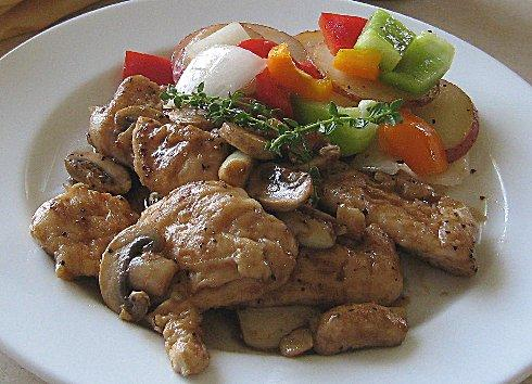 Chicken Marsala (Olive Garden - Official Recipe)
