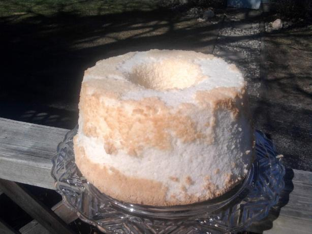 Angel Food Cake--Deluxe