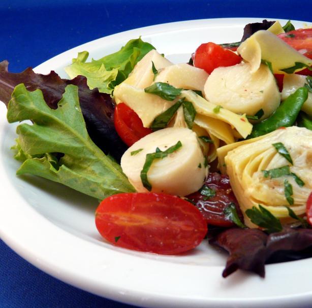 Marinated Hearts of Palm Salad