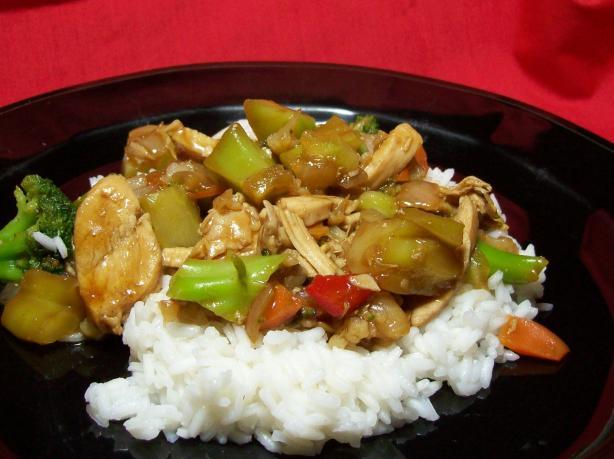 Chicken Pineapple Stir- Fry