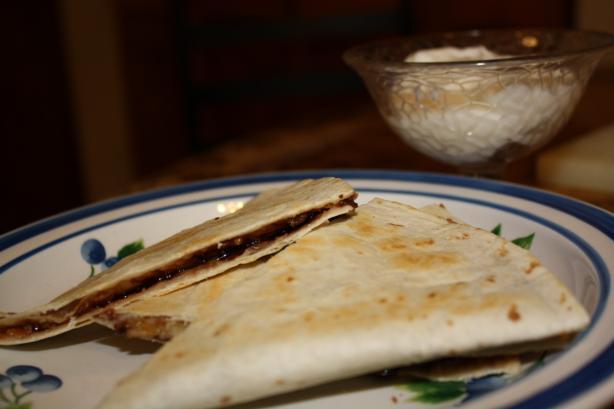 Dessert Quesadillas