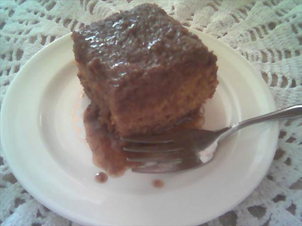 Toffee Cake With Caramel Sauce