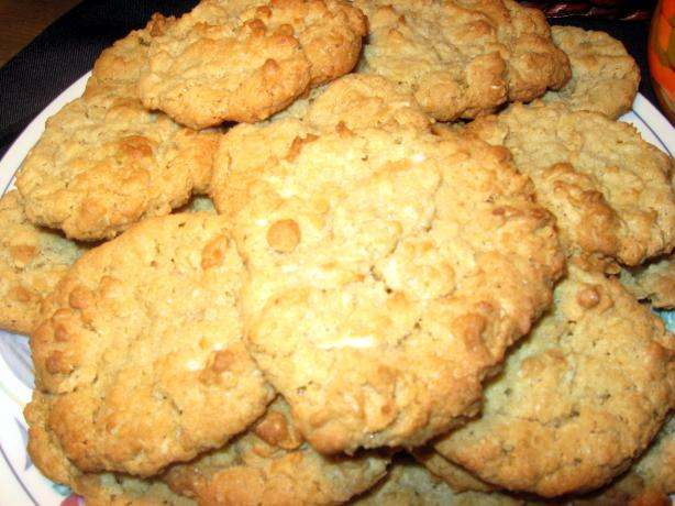 Dad's Oatmeal Coconut Cookies