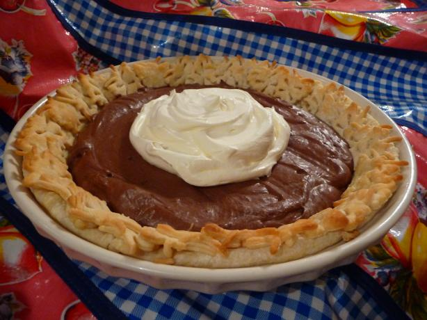 Basic French Silk Pie