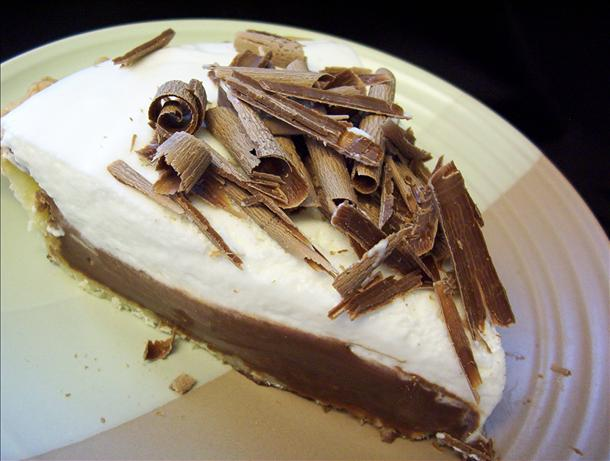French Silk Pie, Cooked
