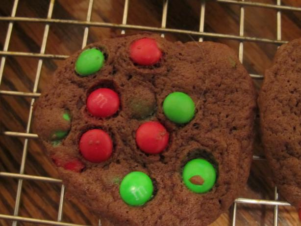 Holiday Double Chocolate Cookies