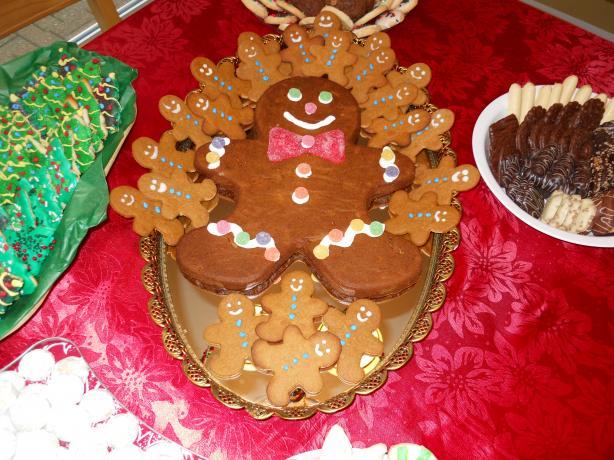 Moist Gingerbread Cake