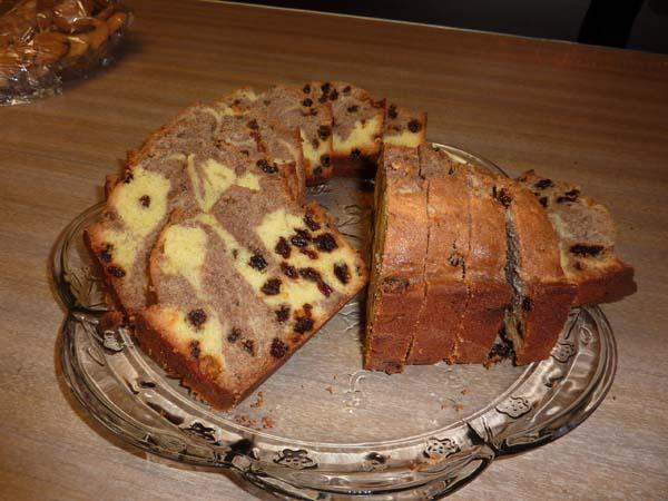 Tiffy's Cinnamon & Raisin Coffee Cake