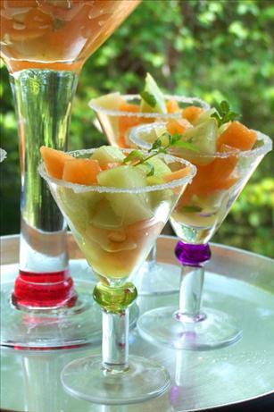 Mojito-Style Melon Salad