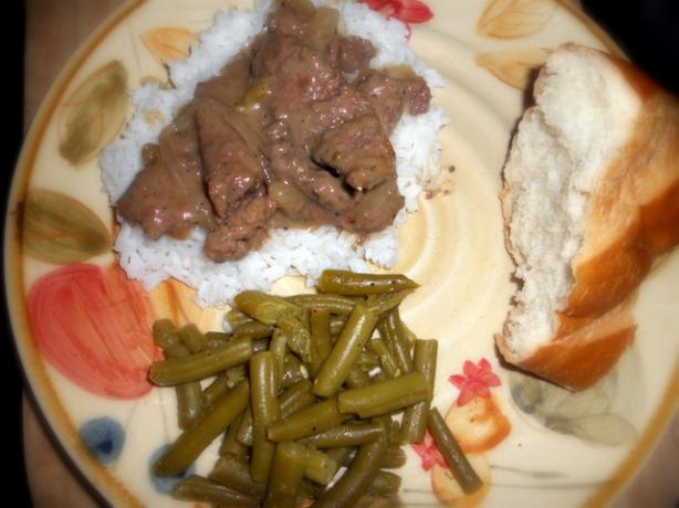Crock Pot Herbed Round Steak