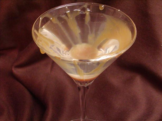 Creamy Caramel Martini