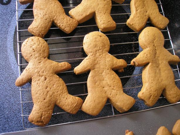 Soft and Easy Gingerbread Men