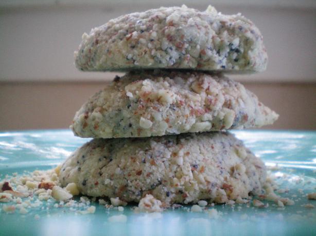 Lemon-Poppy Seed-Almond Cookies