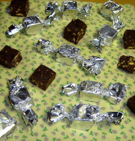 Crunchy Fudge Squares