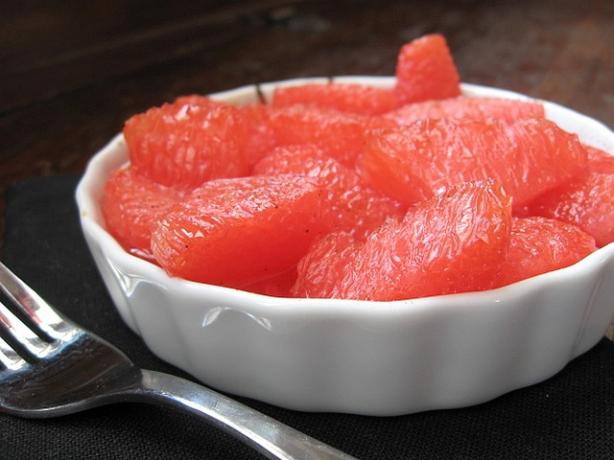 Grilled Pink Grapefruit