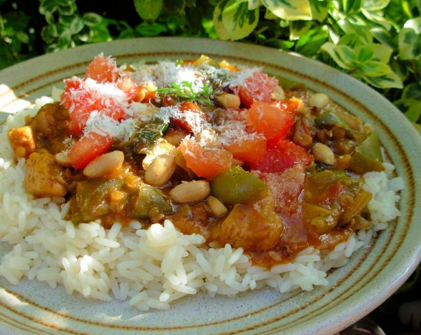 South Africa Vegetable Curry